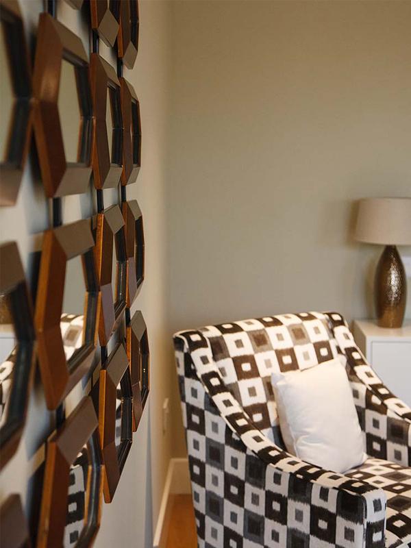 Wadingburn chair and mirror