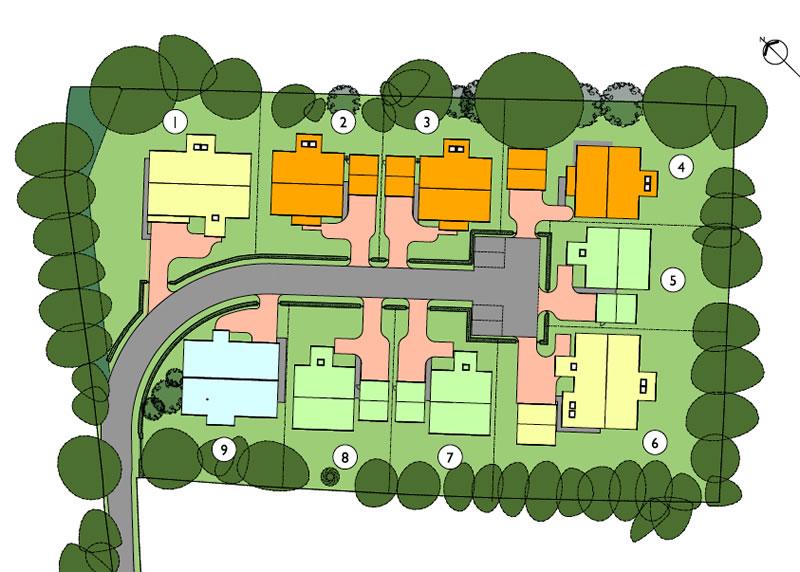 Wadingburn Site Plan