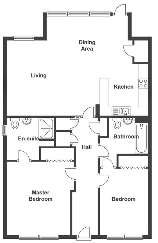 Moulin Floor Plan